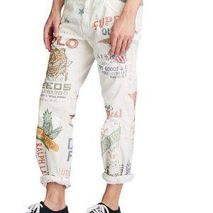 Polo by Ralph Lauren Pants - Polo Ralph Lauren The Graphic Carpenter Pants
